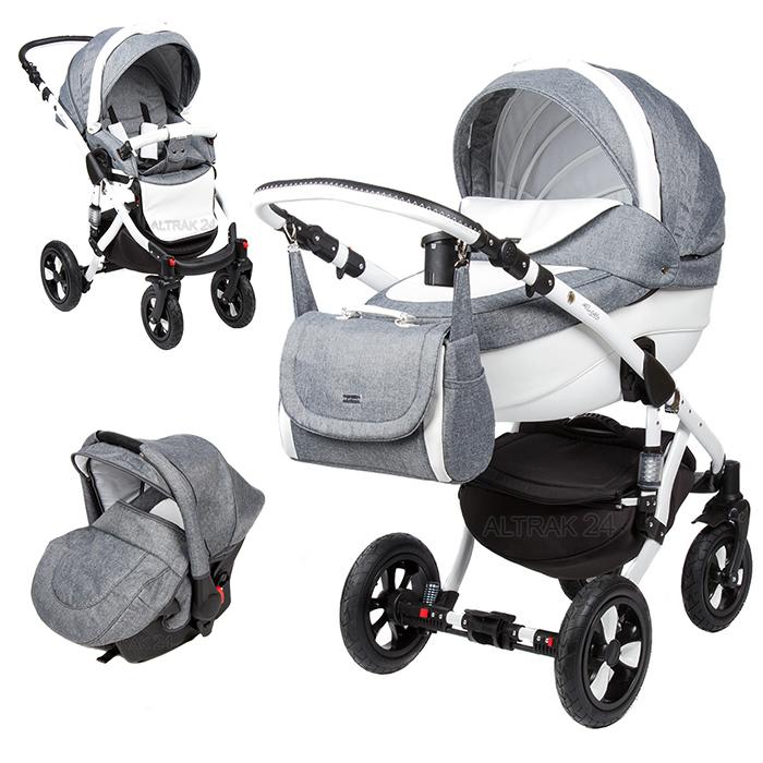 Baby Pram Pushchair Stroller Buggy Travel System 3in1