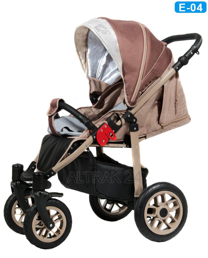 Camarelo Eos - wózek dziecięcy spacerowy spacerówka - Altrak24 Wrocław