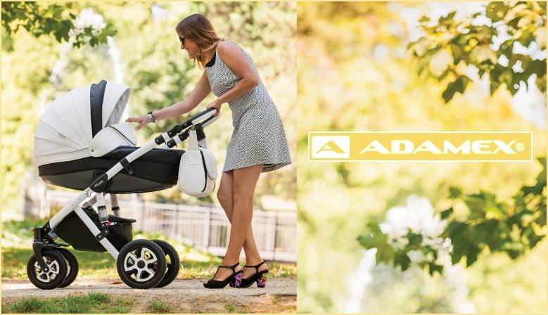 Wózki marki Adamex