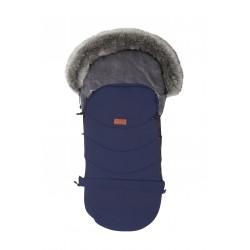Baby Merc Śpiworek Eskimosek do wózka, sanek - Granatowy