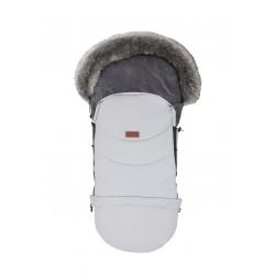 Baby Merc Śpiworek Eskimosek do wózka, sanek - Jasny Popiel
