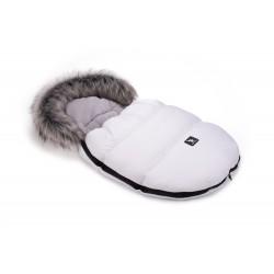 Cottonmoose - Śpiwór zimowy - MiniMoose - Biały