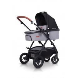 Wózek głeboko-spacerowy Easy Go Optimo Air Grey Fox