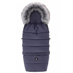 Cottonmoose - Śpiwór zimowy - Combi Yukon Czarny 3w1