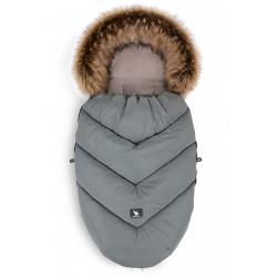 Cottonmoose - Śpiwór zimowy - Combi Yukon Szary 3w1