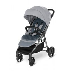 Spacerówka Baby Design 2021 Wave 107 Silver Gray