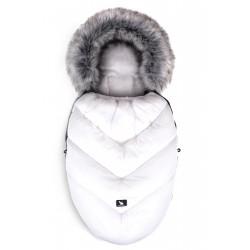 Cottonmoose - Śpiwór zimowy - Moose Biały