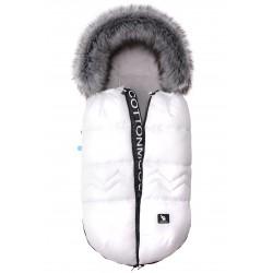 Cottonmoose - Śpiwór zimowy - North - Biały