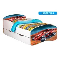 Łóżko dziecięce Nobiko Banbao 160x80 z szufladą