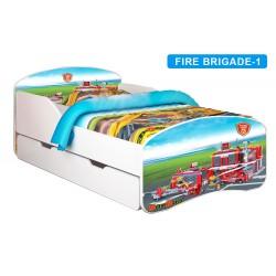 Łóżko dziecięce Nobiko Banbao 140x70 z szufladą