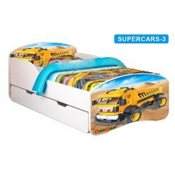 Łóżko dziecięce Nobiko Banbao 180x80 z szufladą