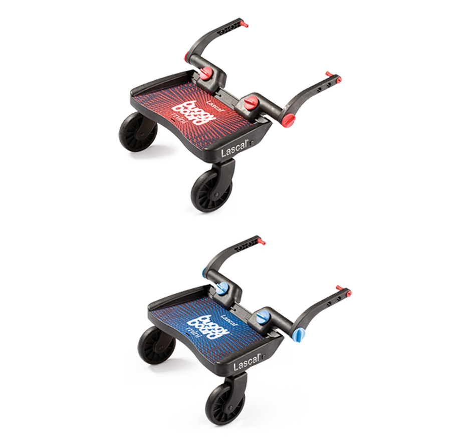 Lascal Buggy Board MINI Tpe Blue Red Platform For Children With