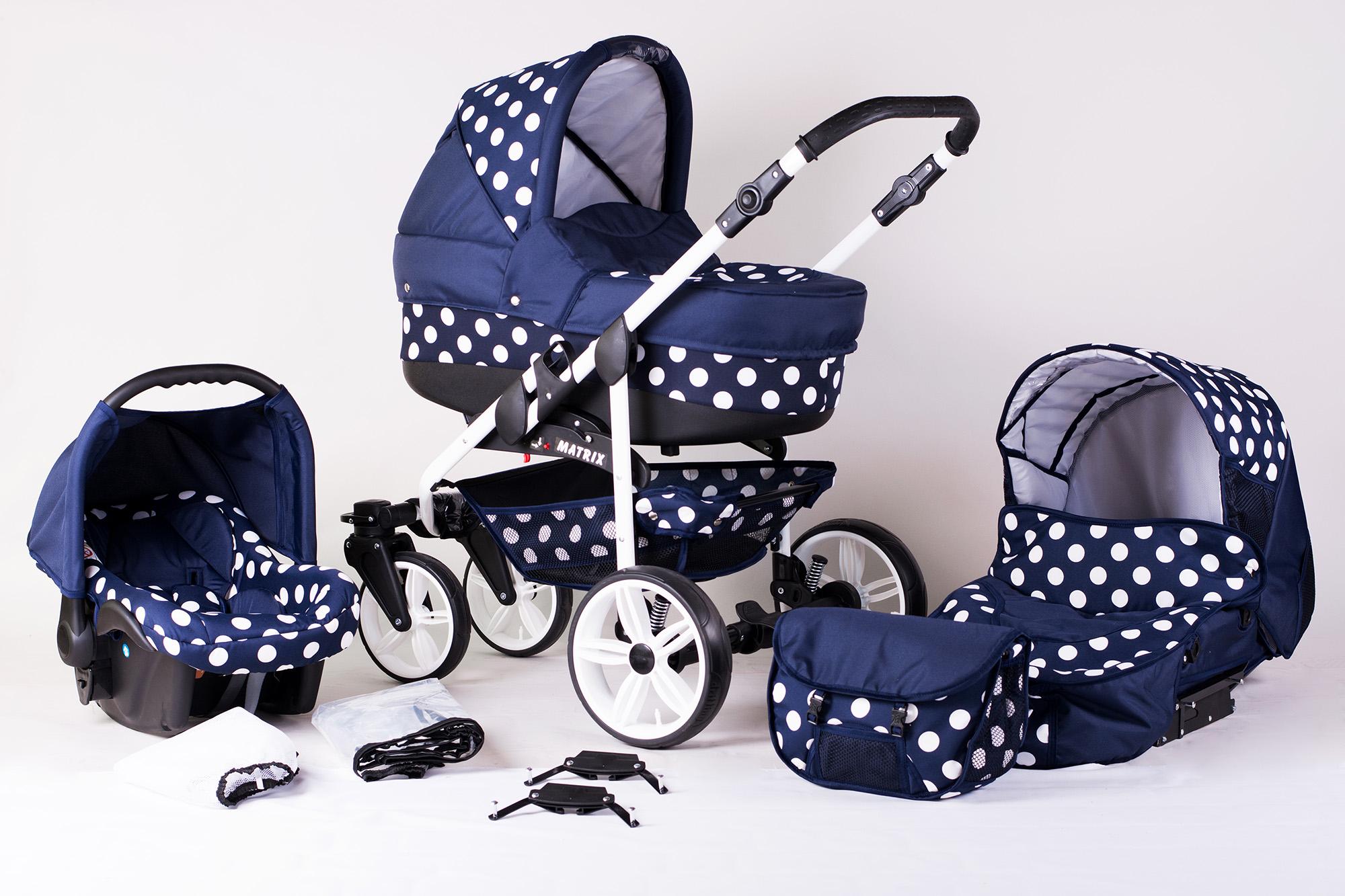Kombi Kinderwagen Babywagen 3in1 System Matrix Sportwagen Buggy ...