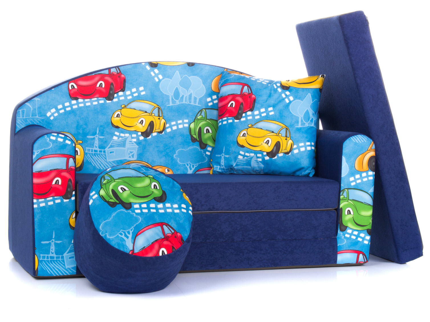 Amazing Details About Childrens Sofa Foam Bed Kids Sofa Pouffe Pillow Playing Sofa Toy Cars 1Sn Gmtry Best Dining Table And Chair Ideas Images Gmtryco