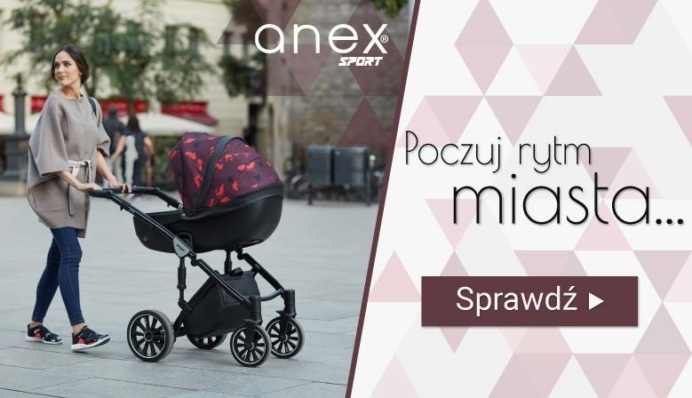Poczuj rytm miasta! Zobacz produkty firmy Anex.